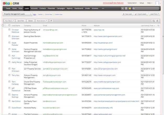Lead Dashboard - New View 4